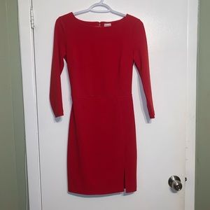 Dynamite Red Dress Size Small